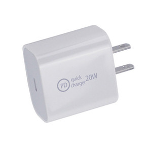 High Quality 20W 18W PD Quick Charger for iPhone 12 Type-C Port EU US UK AU Plug 20V1A Fast Safe Charging Adapter Wall Charger