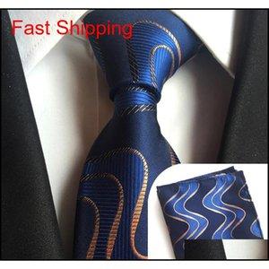 Cityraider Gray Paisley طباعة الحرير رجالي ربطة العنق للرجال العنق منديل ضئيلة مع Qylflh Homes2007