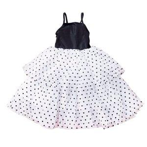 Gaze Girls Mesh Kleider Baby Spitze Dot Print Pettiskirt Mädchen Rock Prinzessin Kleid Sommer Party Röcke Ballkleid 80-120 cm CZ430 NYIJ
