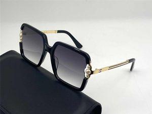 4307 Novas Mulheres Óculos de Sol Grande Quadro Metal Templo Placa Completo Quadro Óculos Encantadores e Elegantes Estilo Anti UV400 Óculos Casuais óculos