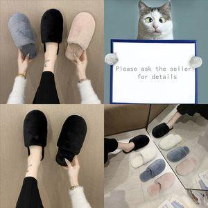 Ibnna Cyfmyd Letter Indoor Pantofole da interno Impermeabile Designer Inverno Pantofole da donna Pantofole da donna Appartamento Memory Memory Foam accogliente coppia Pantofole da casa