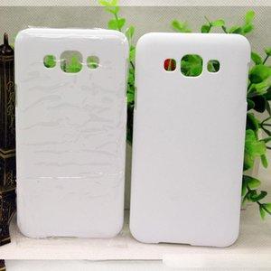 Para Samsung Galaxy A7 A710 J7 J710 J7 PRIME C7 E7 A8 NOTA 4 NOTA 5 S7 BORDA DIY 3D tampa em branco de sublimação Caso 100pcs completa área impressa