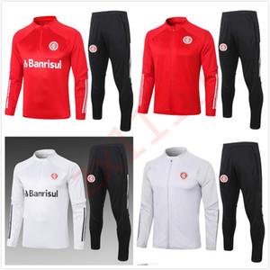 2020 2021 SC انترناسيونال كرة القدم رياضية سترة لكرة القدم 20 21 camisas دي futebol سحب انترناسيونال طويل سحاب دعوى التدريب Chandal