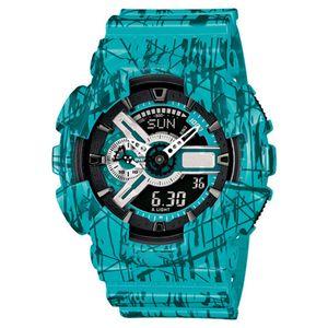 Orologio da uomo Digital Dual Time Chronograph Watch Orologio da uomo LED Chronograph Weekly Watch