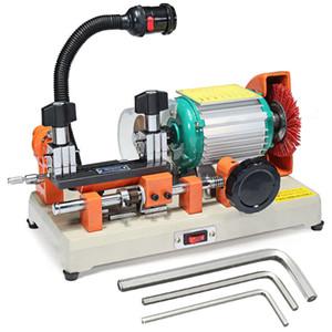 DF2AS Professional Key Cutter Machine Teclas de automóvil Cortador Máquina llave Máquina Horizontal Máquina Lock Picks Locksmith Tool - 220V