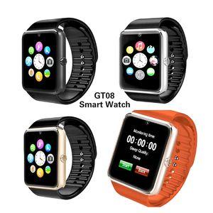 베스트셀러 스마트 시계 MGT08 시계 지원 동기화 알리미 SIM 카드 Android Apple Kids SmartWatch Reloj reloj에 대한 Bluetooth 연결