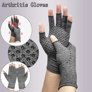 1 Pair Hand Arthritis Gloves Therapeutic Compression Unisex Circulation Grip Arthritis Gloves Sport Palm Protect Wrist Support