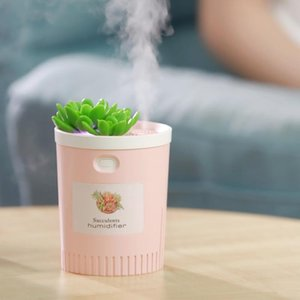 Mini Humidifier, 350Ml USB Cool Mist Portable Air Humidifier, for Bedroom Home Office Yoga Car Travel
