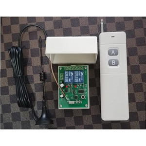New 3000M DC12V 2CH RF Wireless Remote Control Switch System Transmitters and Receiver With Antenna For Applicance Garage Door
