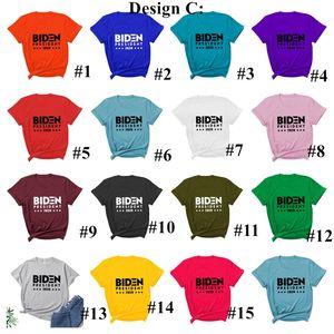2020 EE.UU. Presidenciales Elección Joe Biden Harries letras impresas camiseta de manga corta ocasional remata tes Moda Camisa colorida S-3XL E111304