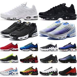 Nike Air Max airmax tn plus Männer Frauen Laufschuhe Herren Turnschuhe Triple Schwarz Weiß Rot Weltweit Oreo Atmungsaktive Mode Damen Sport Turnschuhe Größe 36-46