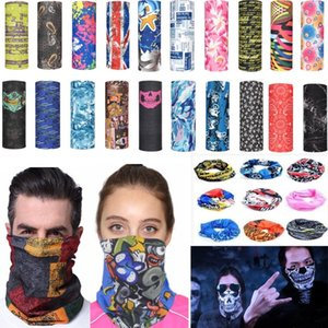 Magic Cycling Scarf Mask Outdoor Headscarf Sport Ski Snowboard Wind Cap Cycling Balaclavas Turban Motorcycle Face Masks Party Masks XD22056