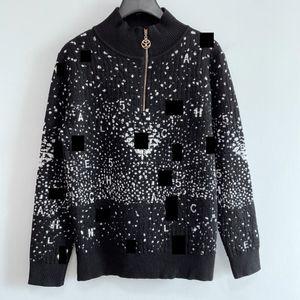 Milan Runway Sweater 2020 Long Sleeves O Neck Women's Sweaters High End Jacquard Pullovers Women Designer Sweater 0921-13