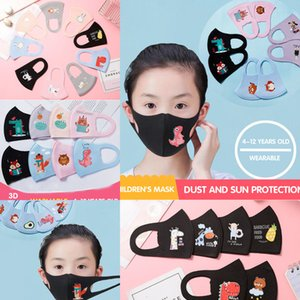 N PM2.5 РОТ РОТ ДЕТСКИЙ Мультфильм Анти-загрязнение Designerface Masks Kids K Анти-пыль Дышащий Орц. Моющийся моющийся многоразовый хлопок 95 Facd9