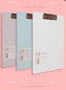Populärer und modischer kleiner frischer Student A4 Schreibvorstand flacher Clip, drei Farben erhältlich, 315mm * 225mm