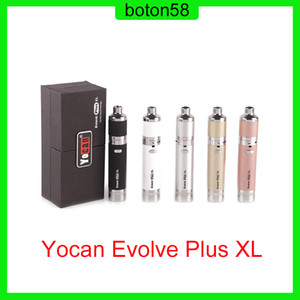 Evolve Plus XL Wax Dab Kit 1400mAh Battery With QUAD Coil Detachable Built-in Dual Compartment Silicone Jar 0268064