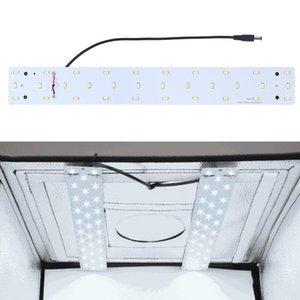 PULUZ 15W 1200LM 32 LEDs SMD 5730 5500K Aluminum Base Light Panel for 40cm Studio Tent