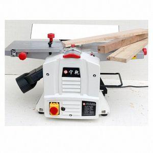 8 pulgadas plana Planer cepillado mesa de la máquina de prensa de regrueso carpintero pequeño de un solo lado del hogar multifunción Planer Herramientas X1bj #