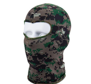 Outdoor Full Face Mask Caps Riding Skull Hood Solid Multi Color Uv Protection Cap Hat Active Cs Outdoor Camo Sport wmtsRu dayupshop