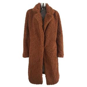 Women's Parkas Faux Fur Coat Casual Autumn Winter New European And American Fashion Coats
