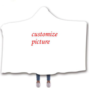 Sublimation Blank DIY Thickness Blanket With Cap Heat Transfer Printing