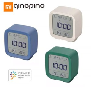 Xiaomi Cleargrass Bluetooth Alarm Clock Temperature Humidity Display LCD Screen Adjustable Nightlight With Mijia APP Smart Home LJ201209