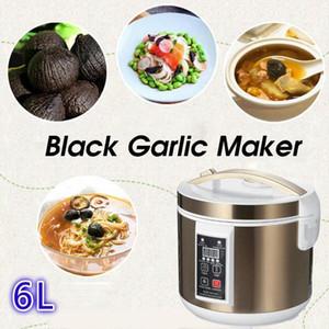 Joghurthersteller 6L Automatischer schwarzer Knoblauch Fermenter Smart Gärungsmaschine Verdickter Natto DIY Küchenkocher 220v1