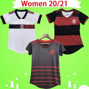 FEMMES 2020 maillot de football Flamengo lidies DE ARRASCAETA GABRIEL Barbosa maillots de football filles GERSON B.HENRIQUE uniforme Camisa Feminina 20/21