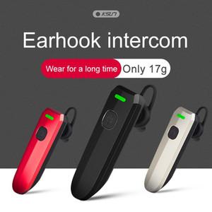 Bluetooth Kulaklık Walkie Talkie Kablosuz Çağrı Açık Mini Interkom Motosiklet Bisiklet Kulaklık Handsfree Kulaklık Walkie-Talkie