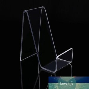 DHL Universal Acrylic Mobile Cell Phone Holder Display Stand For Phone With PriceTag Label Storage rack