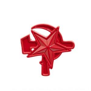 dql5k украшения советского Воротник контактный ювелирные изделия значок Красная звезда символ серп молот BROOCH BADGE