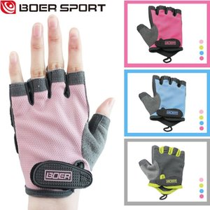 in stock Boer women breathable fitness gloves sports gloves cycling outdoor half finger gloves