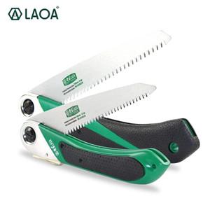 LAOA Garden Saw Portable Folding Pruner Secateurs Pruning SK5 Steel Pruning Garden Outdoor Tools Sharp Tooth