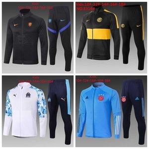 2020 21 enfant survêtement kid soccer jacket tracksuits child football training suit 20 21 boy soccer jogging suit 96625