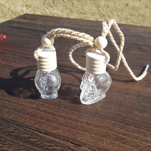 Rope Hanging Car Air Freshener Perfume Bottle Empty Refillable Diffuser Fragrance Bottle Home Car Air Purifier Hanging Ornament Decoration