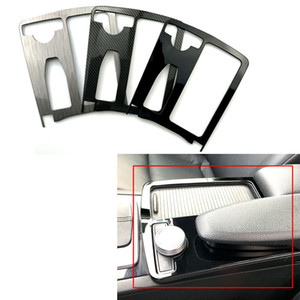 Mercedes-Benz C-Sınıf C180 C200 W204 Merkezi Kontrol Kolçak Kutusu Su Bardak Tutucu Dekoratif Panel Kapak Değişikliği
