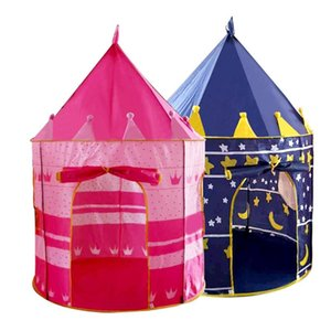 Children's Tent Princess Castle Tent Indoor Play House Princess Castle Baby Play for Kids Birthday Christmas Gift Toy