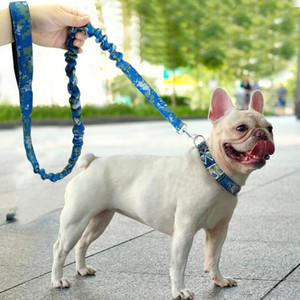 Nylon Dog Leash Pet Walking Running Leash Elastic Bungee Rope Long Dog Chain Belt For Medium Large Dogs Pitbull German sqcZEN