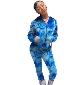 2021 Women Clothes 2 Two Piece woman Set Outfits womens sweat suits Plus Size Jogging Sport Suit Soft Long Sleeve Tracksuit Sportswear E35