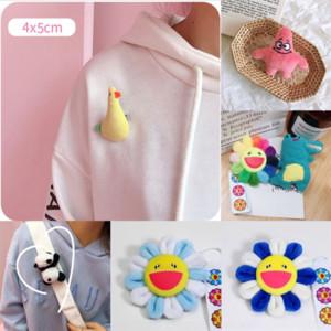 A8a Farlena Kanzashi Broche Shell Design Exclusivo Huachenyu Mesmo Estilo Bonecas Brooches Sol Flor Plum Broche Pins para Mulheres Vintage