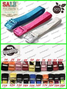 2020 new men's brand belt designer logo alloy buckle street casual fashion letter WHITE hip hop loose fashion belt exquisite packaging