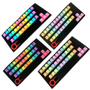 Durable 37 teclas ABS a prueba de luz colorido teclado mecánico nombres de teclas del teclado de la cubierta del reemplazo de accesorios tecla clave de reemplazo