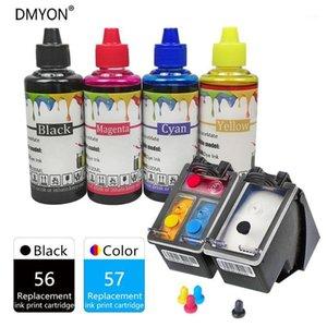 DMYON 56 57 XL Cartridges for Printer Ink Compatible for Officejet 4110 4110v 5505 5510 v xi 4110xi 4215 v 4215xi 6110 6110xi1