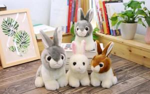 A001 Wholesale rabbit toys cute little rabbit plush toys boutique dolls children birthday gifts