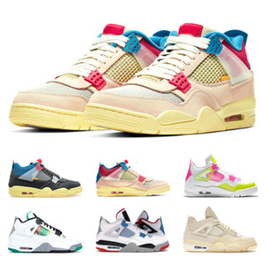 New Release 4s Basketball Shoes for Women Guava Ice Sail Off Lemon Venom Top Quality Sports Sneakers Traienrs Size 5.5-8.5