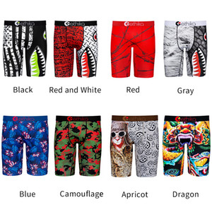 100% algodão Ethika respirável Men Underwear Macio Homens Boxers Breve Carta Cueca For Men Sexy Male Boxer Shorts calças de praia Quick Dry