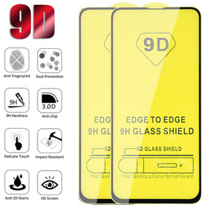 Full Cover 9D Protective Tempered Glass Screen Protector For iPhone 12 11 Pro MAX 8 7 Samsung S21 Plus S20 FE A01 Core A11 A21 A31 A21S A51 A71 M31 M51