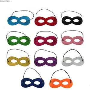 Halloween Party Cosplay Masquerade bambini feltro maschera decorazioni Superhero Capo prestazioni