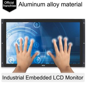 Monitors Tkun 21.5 Inch Embedded Industrial Computer Monitor IPS Full Viewing Angle Outdoor High Brightness LCD Monitor1