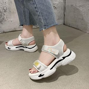 LEOSOXS 2020 Summer Ladies Sandals Fashion Women Casual Shoes Outdoor Sandalias De Mujer Platform Wear Slip Female Shoes